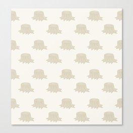 Stumped (Patterns Please) Canvas Print