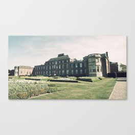 Manor Facade Canvas Print