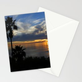 Palm Silhouette Stationery Cards