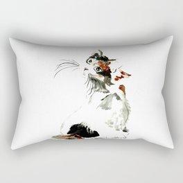Bobtail cat Rectangular Pillow