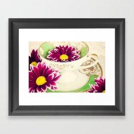 Tea Petals Framed Art Print