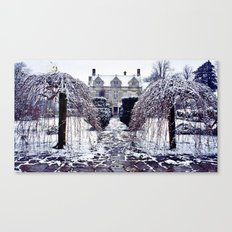 The Cotswolds In Winter Canvas Print