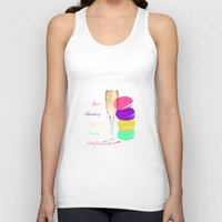 macaron Tank Tops featuring only classy girls by myepicass