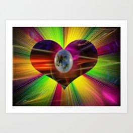 Flowermagic - Gift idea Art Print