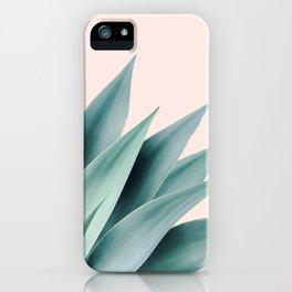Agave flare II - peach iPhone Case