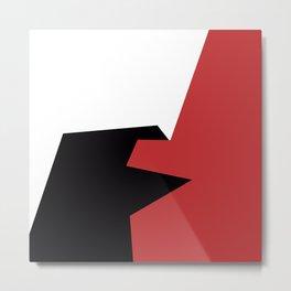 Minimalism Abstract Colors #20 Metal Print