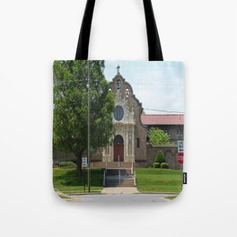 Monastery of the Visitation Tote Bag