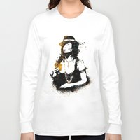 poker Long Sleeve T-shirts featuring Poker by Oody