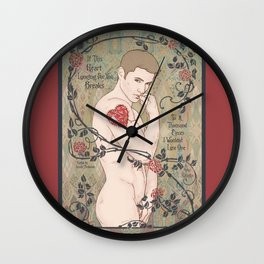 If This Heart Breaks Wall Clock