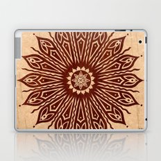 ozorahmi wood mandala Laptop & iPad Skin