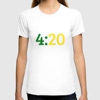 oakland T-shirts featuring Oakland 420 by Good Sense