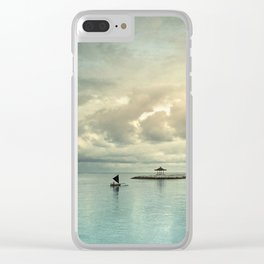 the art of silence Clear iPhone Case