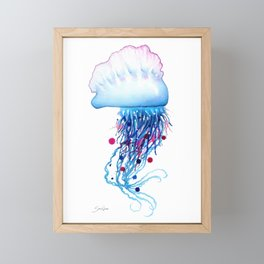 Manowar Jellyfish Framed Mini Art Print
