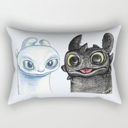 Lightfury Rectangular Pillow