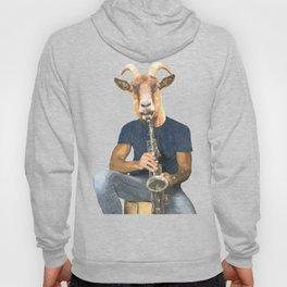 Goat Musician Hoody
