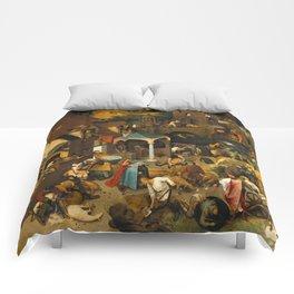 Netherlandish Proverbs (Nederlandse Spreekwoorden) Comforters