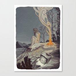 Pixels and Dust Canvas Print