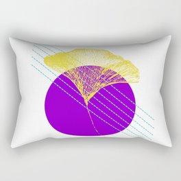 Ginkgo Leaf #2 Rectangular Pillow