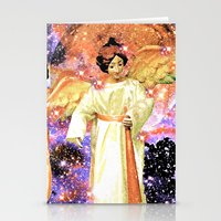 angels Stationery Cards featuring Angels by Saundra Myles