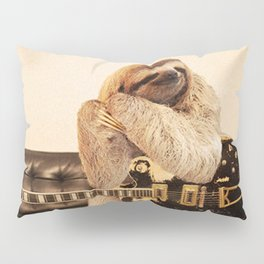 Rock Star Sloth 2# Pillow Sham
