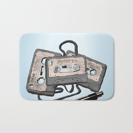 Soundtracks To Life Bath Mat