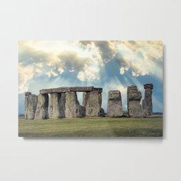 Stonehenge V Metal Print