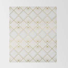 Art DECO - Mix & Match with Simplicity of Life Throw Blanket