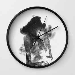 Let me feel you around. Wall Clock