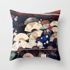 Tokyo Market  Throw Pillow
