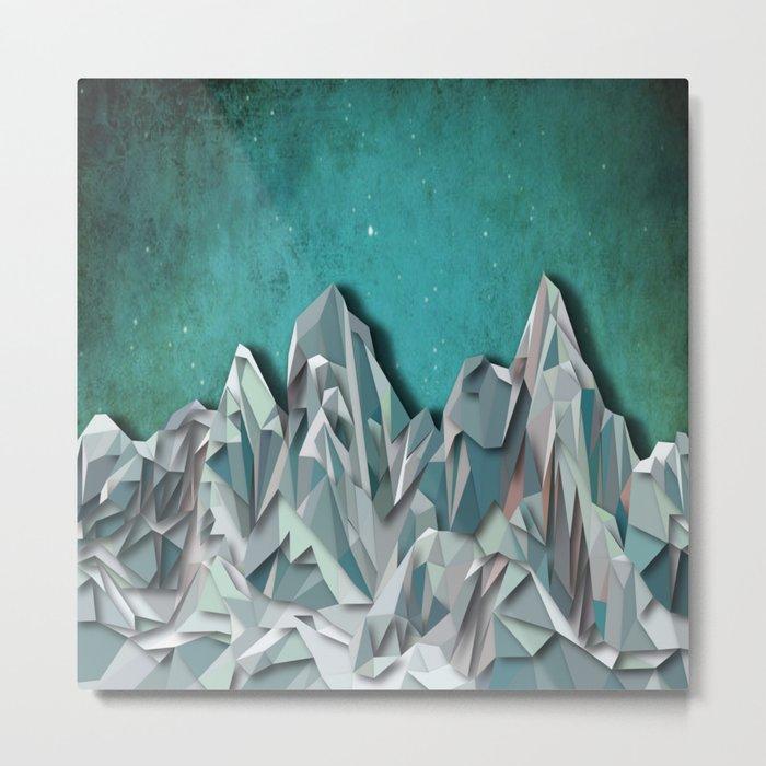 Night Mountains No. 31 Metal Print