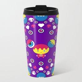 Monster Mandala #2 Metal Travel Mug