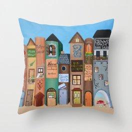 Wee Folk Lane Throw Pillow