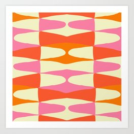 Zaha Sixties Art Print