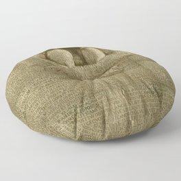 The Artist Floor Pillow