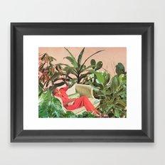 SECRET PLACE Framed Art Print