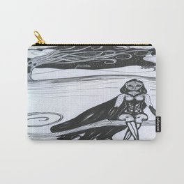 Bird Girl Carry-All Pouch