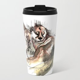 Totem: Asian small-clawed otter (c) 2017 Travel Mug