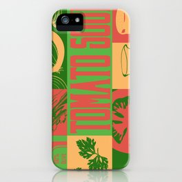 Tomato Soup iPhone Case