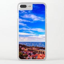 the Barcolana regatta in the gulf of Trieste Clear iPhone Case