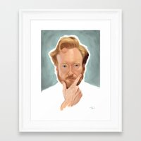 coco Framed Art Prints featuring Coco by Peter Vien
