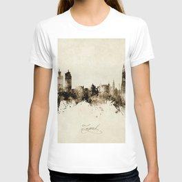 Zagreb Croatia Skyline T-shirt