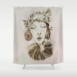 Ophelia´s premonitory dream Shower Curtain