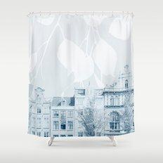 springtime in amsterdam Shower Curtain