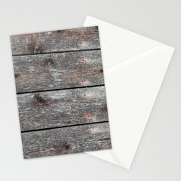 Wood grain II Portrait Stationery Cards