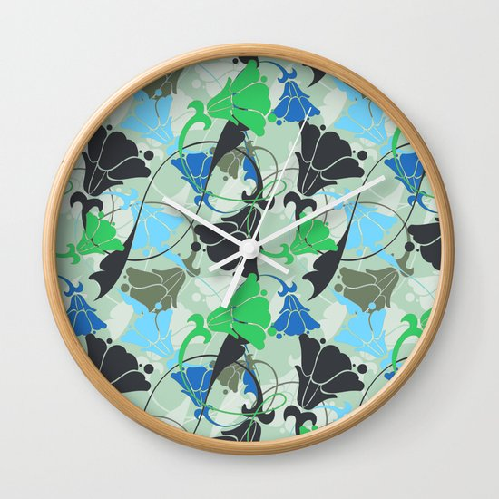 Nouveau Nouveau Wall Clock