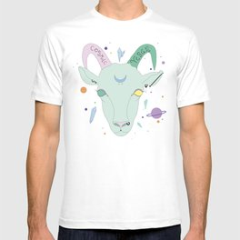 Vegan Cosmic Goat T-shirt
