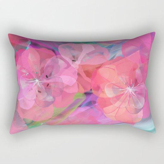 Flower carpet(60) Rectangular Pillow