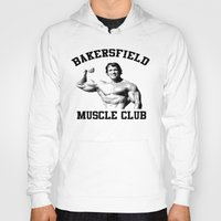 muscle Hoodies featuring Muscle club by big tony