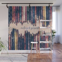 Colored Pencils Wall Mural