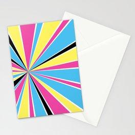 CMYK Star Burst Stationery Cards